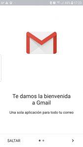 Abrir aplicación Gmail